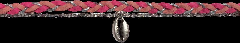 suedine-tressee-rose-chaine-forcat-et-cauri-argentes