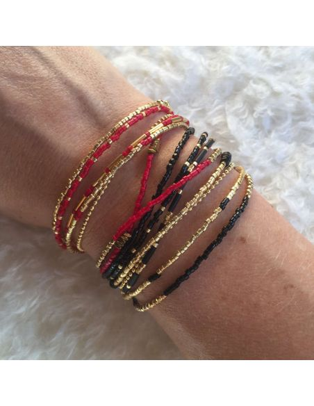 KARMA RED BLACK GOLD