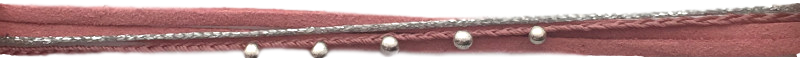 lien-suedine-et-tresse-rose-nude-silver
