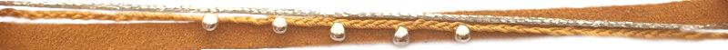 lien-suedine-et-tresse-moutarde-silver
