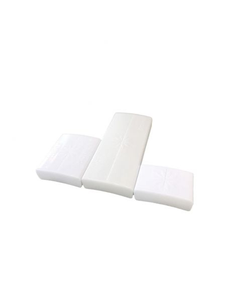 White Clasps * 3 sizes Pack