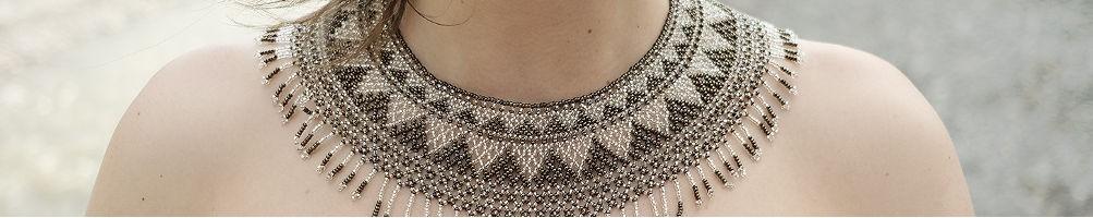 hiilos :  Nos colliers ethniques en perles de rocaille