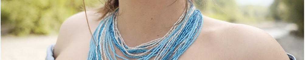 Hiilos : Colliers en perle de rocaille Chingo (24 fils)