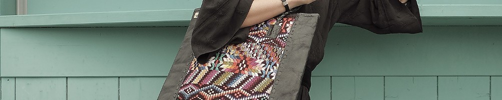 Hiilos : QUETZAL Bag is an Unusual Ethnic Tote Bag